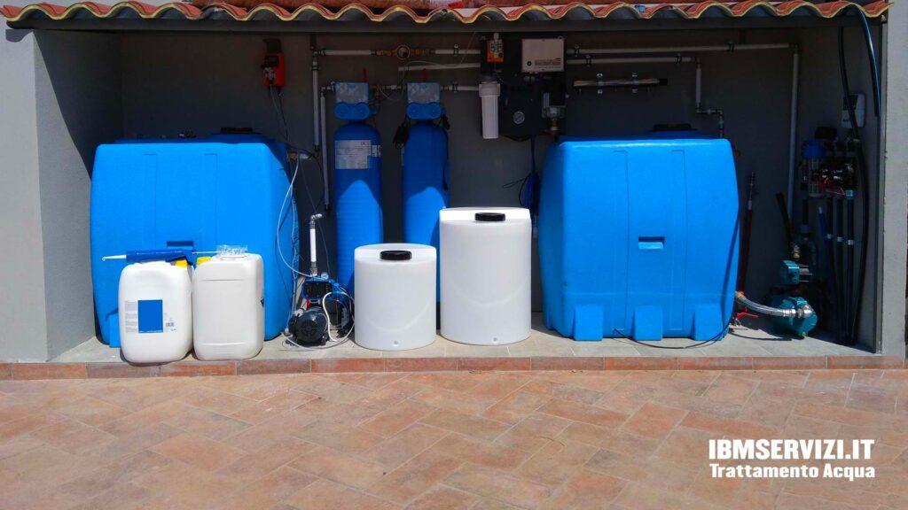 Impianti di potabilizzazione pozzi Santa Marinella Foto 1