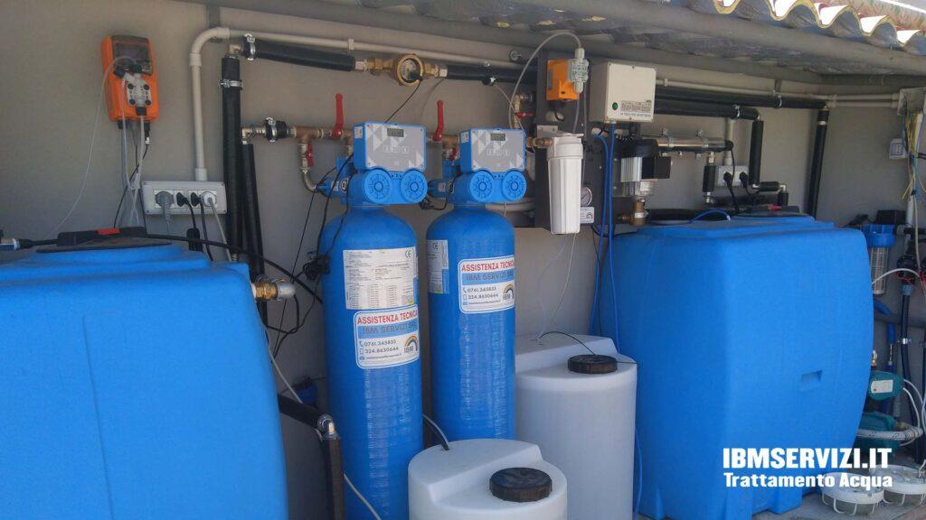 Impianti di potabilizzazione pozzi Santa Marinella Foto 4