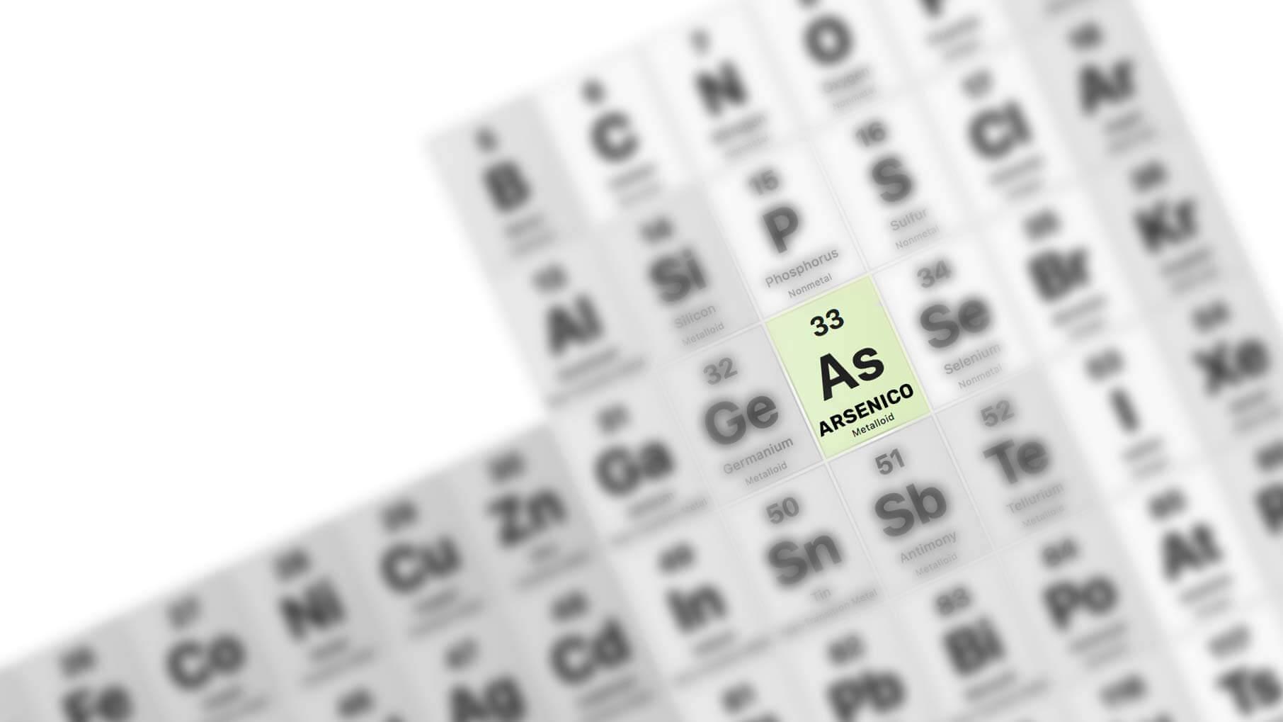 come rimuovere l'arsenico